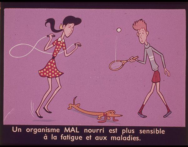 Films fixes et publicités de quartier sur www.filmfix.fr : Pour savoir bien se nourrir