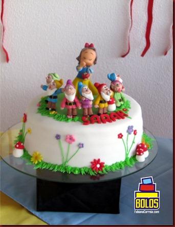 bolo branca de neve, bolos decorados maceió-al, bolos fabiana correia, fabianacorreia.com