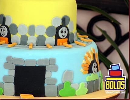 bolos thomas e seus amigos, bolos fabiana correia, bolos maceió-al