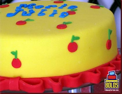 bolo branca de neve, bolo fabiana correia, bolos decorados maceió-AL.