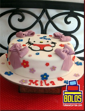 bolo hello kitty, cake hello kitty, bolos decorados, bolos maceió-al, bolos fabiana correia 2