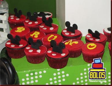 cupcakes mickey, cupcakes maceió, cupcakes fabiana correia