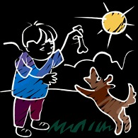 boy-dog
