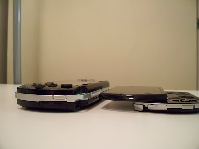PSP Phat and PSP Go (side)