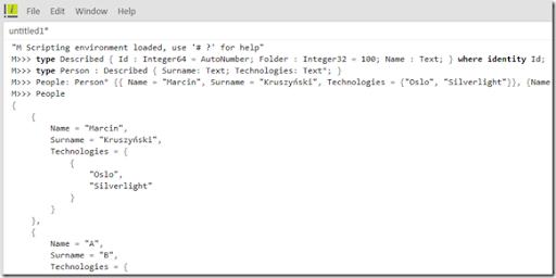 Intellipad January 2009 MScriptMode