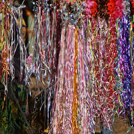 Sparkling Colors by Luanne Bullard Everden - Artistic Objects Clothing & Accessories ( sparkling, shops, ribbons, flowers, feathers, headbands )
