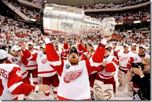 Stanley Cup Red Wings Penguins Hockey