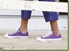 purple converses