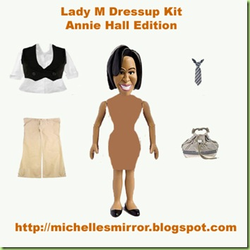 Lady M Dress-up  Kit-WHITE