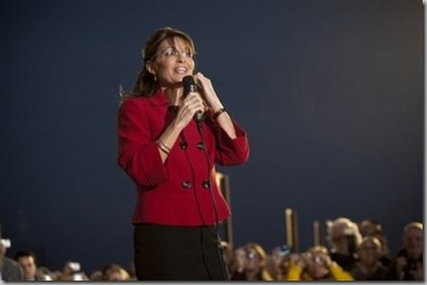 Sarah Palin Talks to Crowd in Grand Rapids