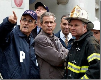 bush ground zero
