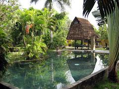 Swimming pool at Pondok Sari resort