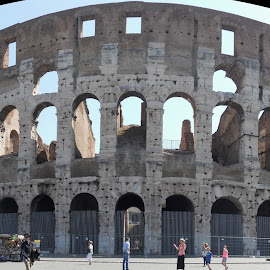 Epic Colosseum by Helen Roberts - City,  Street & Park  Historic Districts (  )