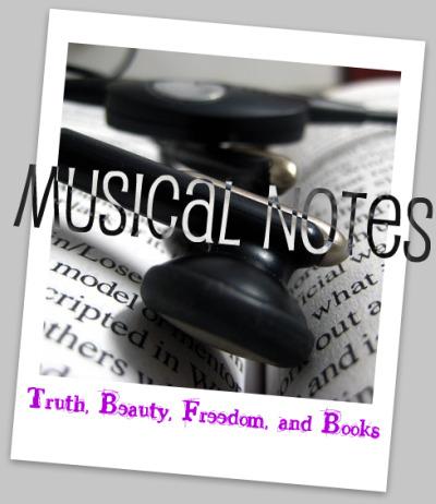 musical notes button