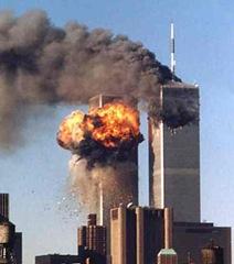 Vôo 175 se choca contra a Torre Sul