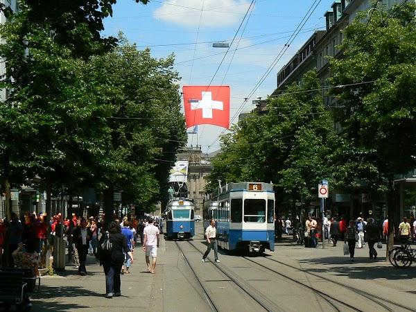 Obiective turistice Elvetia: Bahnohofstrasse, Zurich