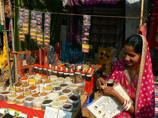Obiective turistice India: spices in Anjuna