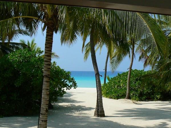 Imagini Maldive: Velassaru un ochi spre mare