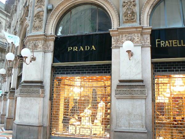 Obiective turistice Italia: Prada e, diavolul pe unde o fi