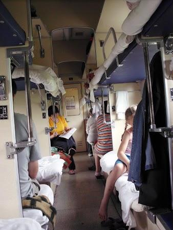 Transport Rusia: Transsiberian Clasa 3 inside