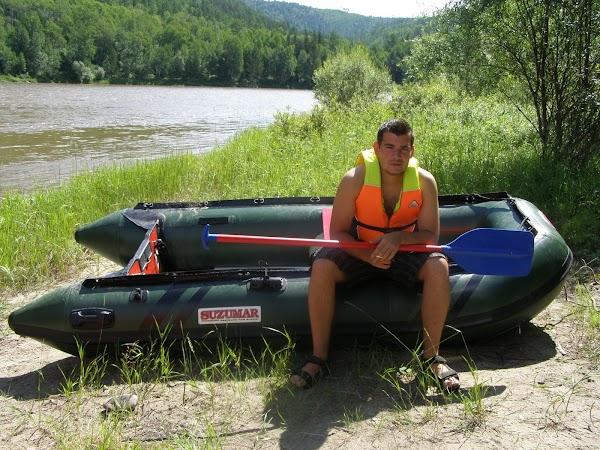 Obiective turistice Rusia: rafting pe lacul Baikal