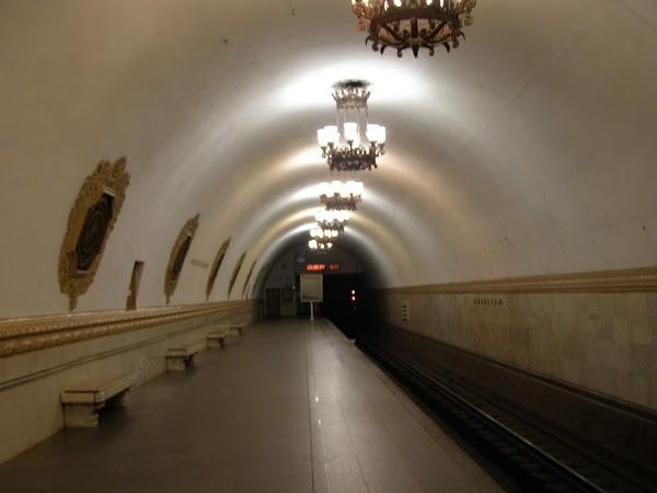 Obiective turistice Rusia: metrou moscova