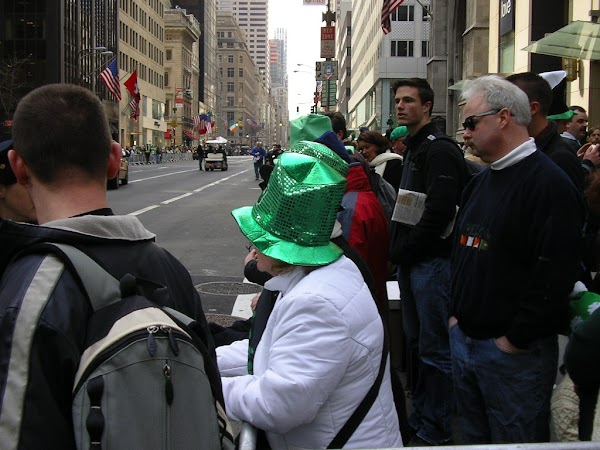 Evenimente SUA: parada de St. Patrick's Day pe 5th Avenue New York