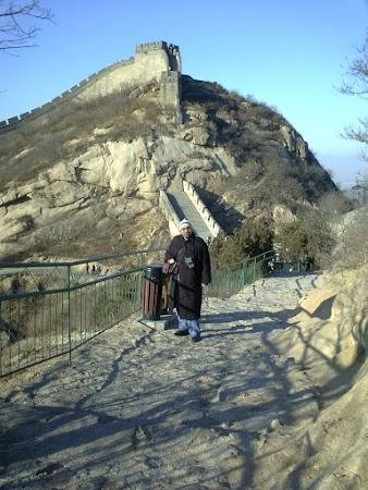 Imagini China: Marele Zid iarna.JPG