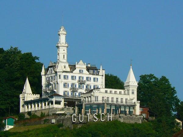 Obiective turistice Elvetia: castelul Gutsch, Luzern