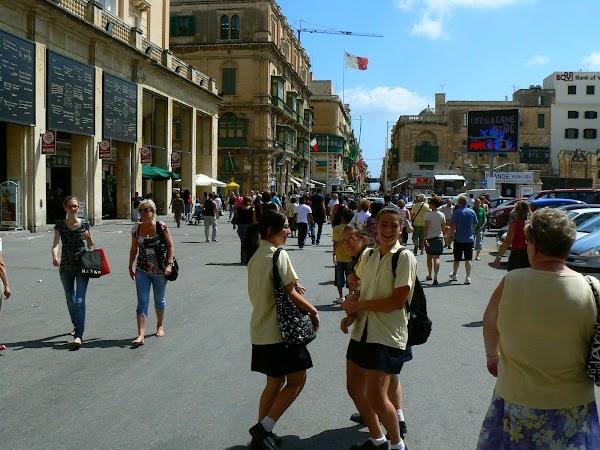 Obiective turistice Malta: Valletta.JPG