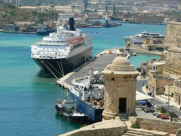 Obiective turistice Malta: vedere din Baraka, Valletta