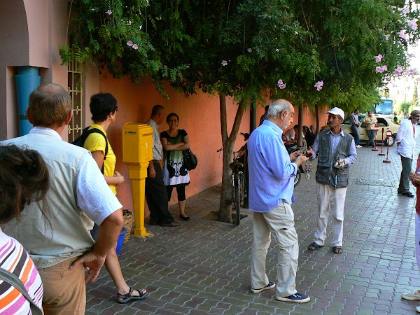 Obiective turistice Maroc: vila Yves Saint Laurent, Marrakech la intrare