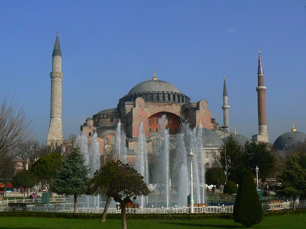Obiective turistice Turcia: Sf Sofia Istanbul.JPG