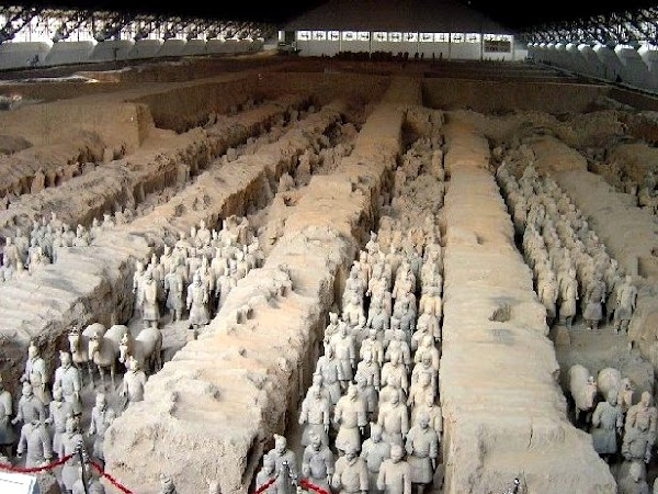 Obiective turistice China: Armata de teracota Xian