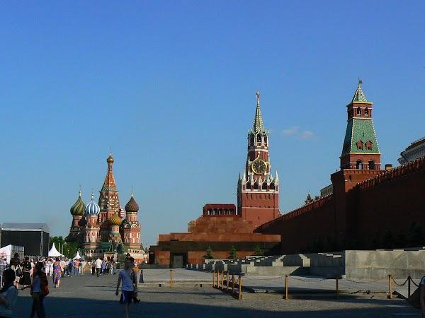 Atractii turistice Rusia: Piata Rosie, Moscova