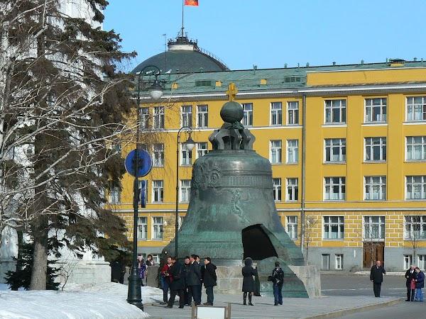Obiective turistice Rusia: Clopotul Tar, Kremlin, Moscova