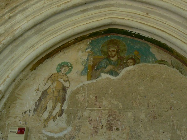 Obiective turistice Cipru de Nord: manastirea din Bellapais.JPG