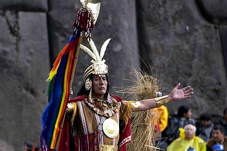 Atractii turistice Peru: Inti Raymi in Cuzco