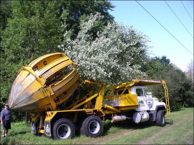 Tree Spade and Transporter 11