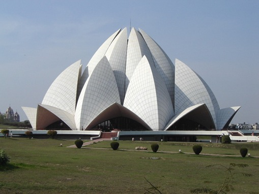 Bahai House Tourist  Attractions of Delhi Lotus temple
