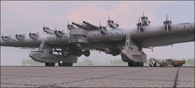 Kalinin k 7 soviet heavy bomber megamachine info