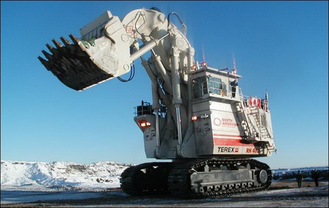 TEREX RH400 worlds largest hydraulic shovel 13