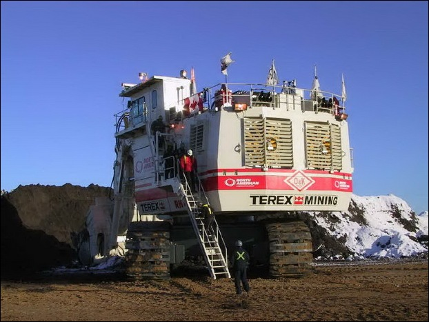 TEREX RH400 worlds largest hydraulic shovel 07