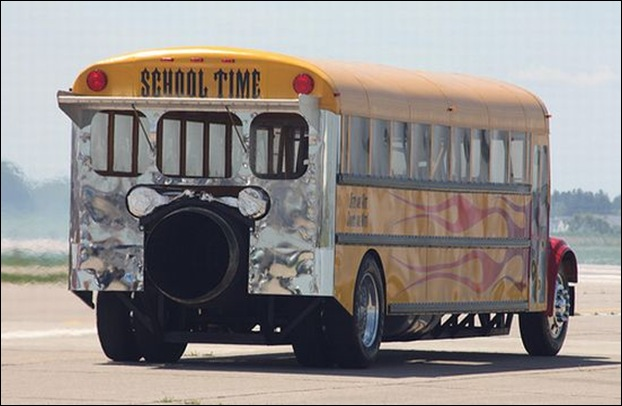 Jet-Powered School Bus Go Up To 367 MPH