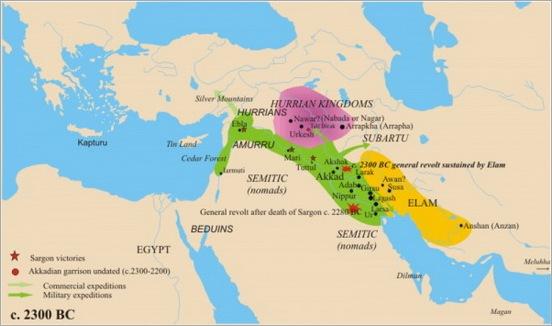 10. Akkadian Empire