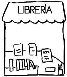 Dibujos de tiendas para pintar - Almacen de libreria ...