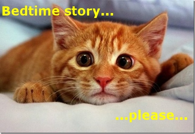 Funny Pictures: Bedtime story please
