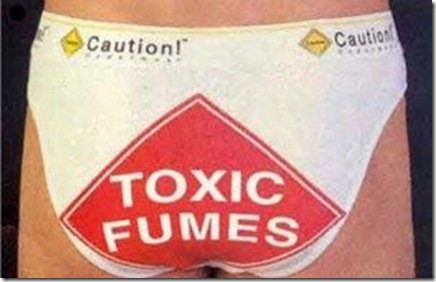 Funny Pictures: Funny caution underwear