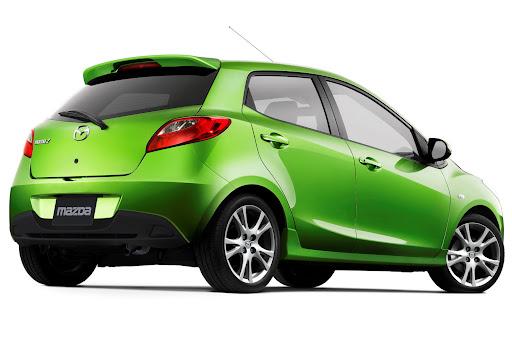 Mazda 2 facelift rear