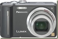 Panasonic - 12.1-Megapixel Digital Camera - Black